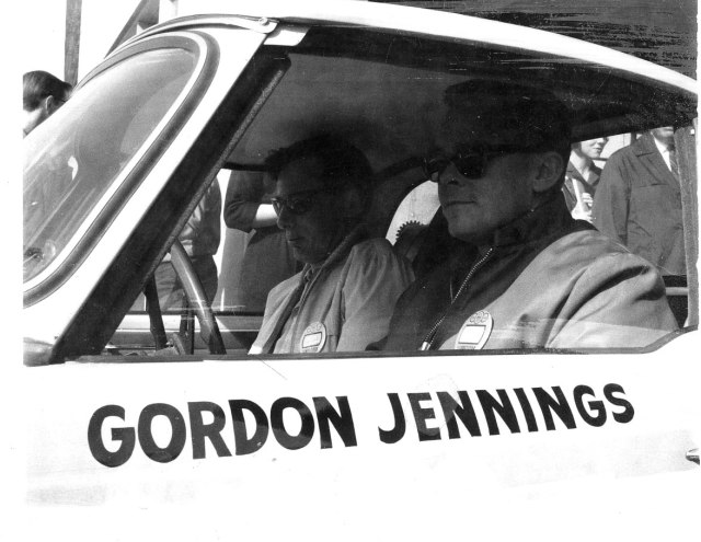Ed and Gordon leaving scrutineering in Vancouver956
