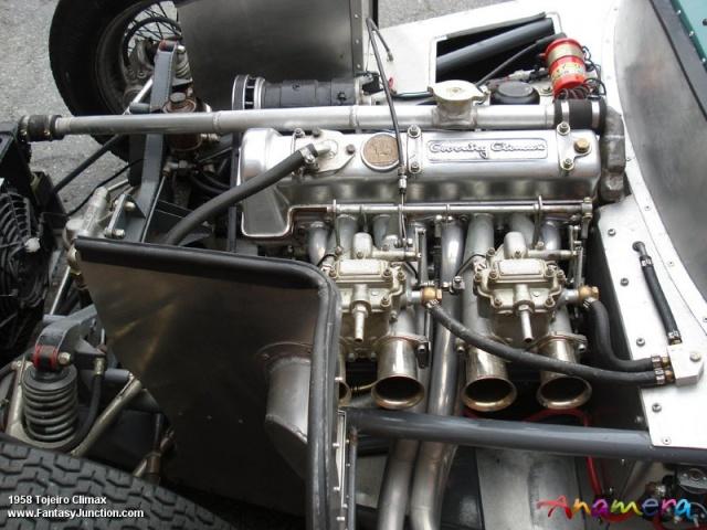 Tojeiro 1100cc Climax Engine 1958