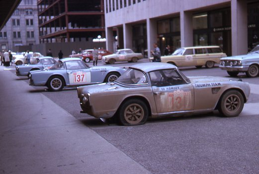 Triump Shell 4000 finish Montreal 1964 (2)