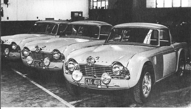 Triumph Cars Shell 4000 1964