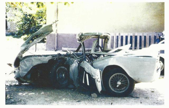 Triumph TR4 6VC Wreck
