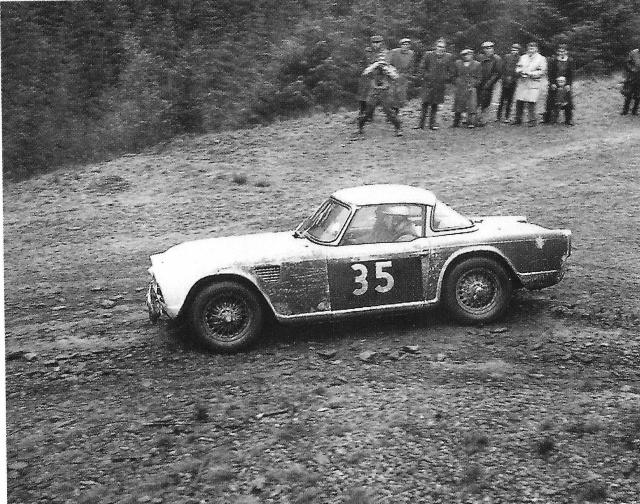 Triumph TR4 RAC Rally 1962