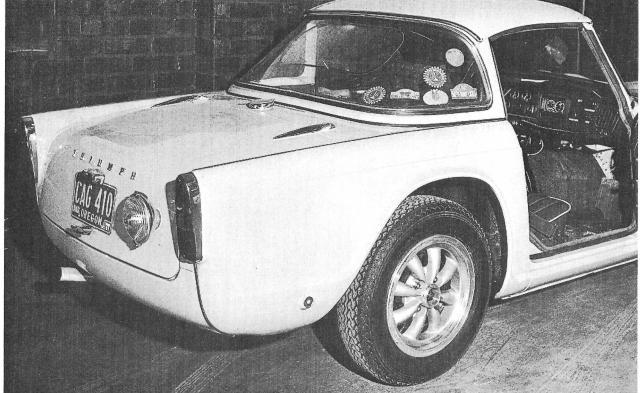 Triumph TR4 Shell 4000 1964