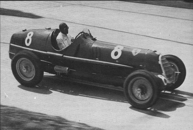 1935 Alfa Romeo 8C Nuvolari