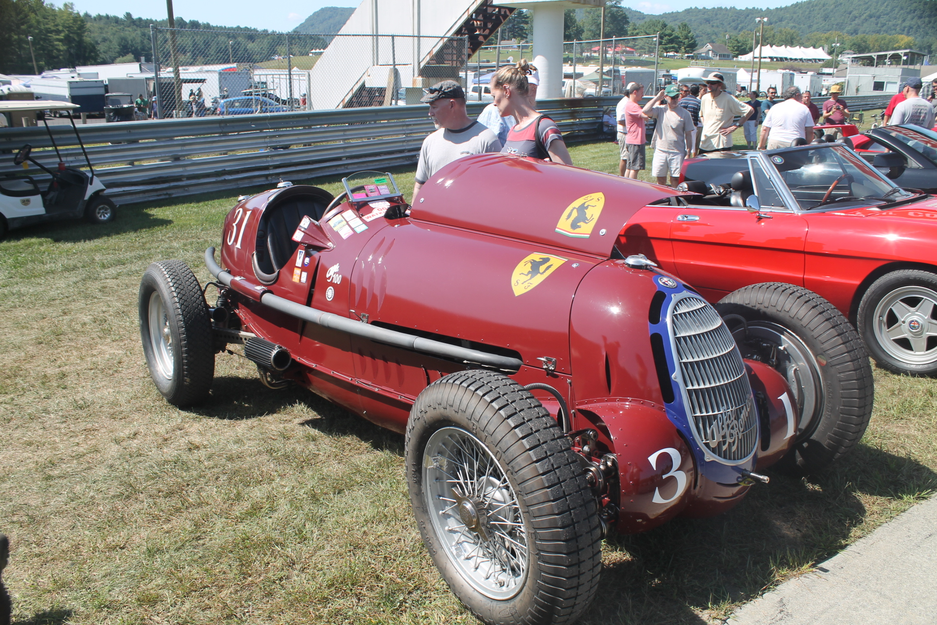 alfa romeo tipo c 8c 1935 at lime rock park. Black Bedroom Furniture Sets. Home Design Ideas
