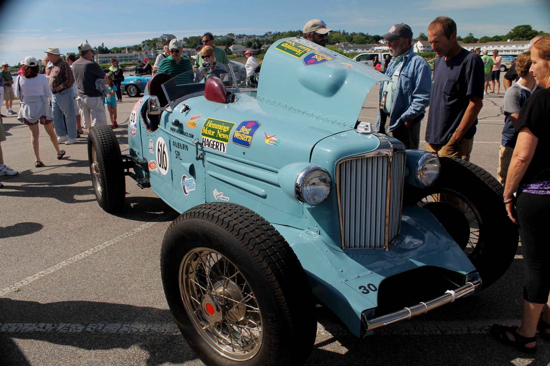 Auburn Special Racer At 2014 The Great Race