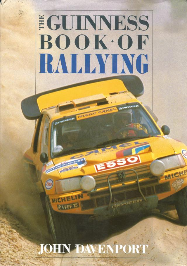 Guinness Rallying Book Cover