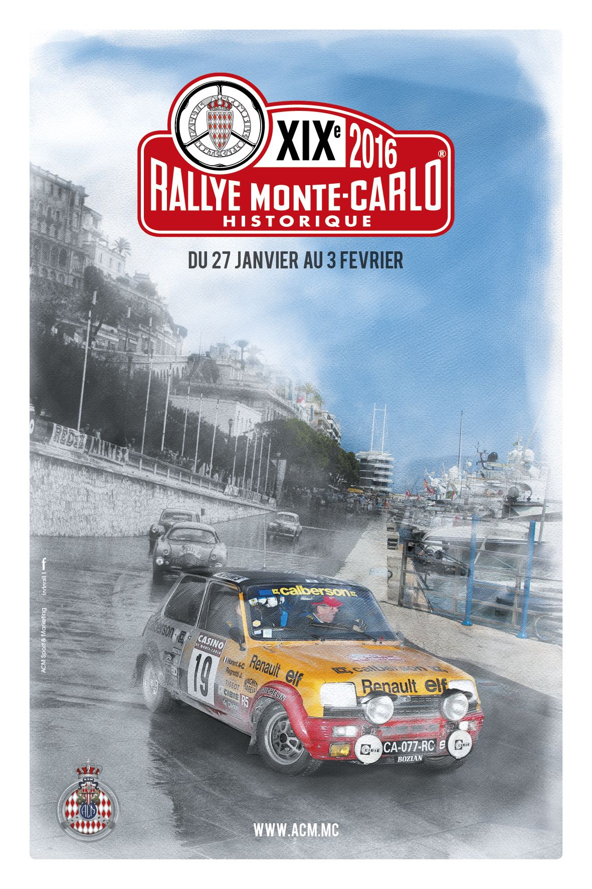2016 Rallye Monte Carlo Historique Entry List  