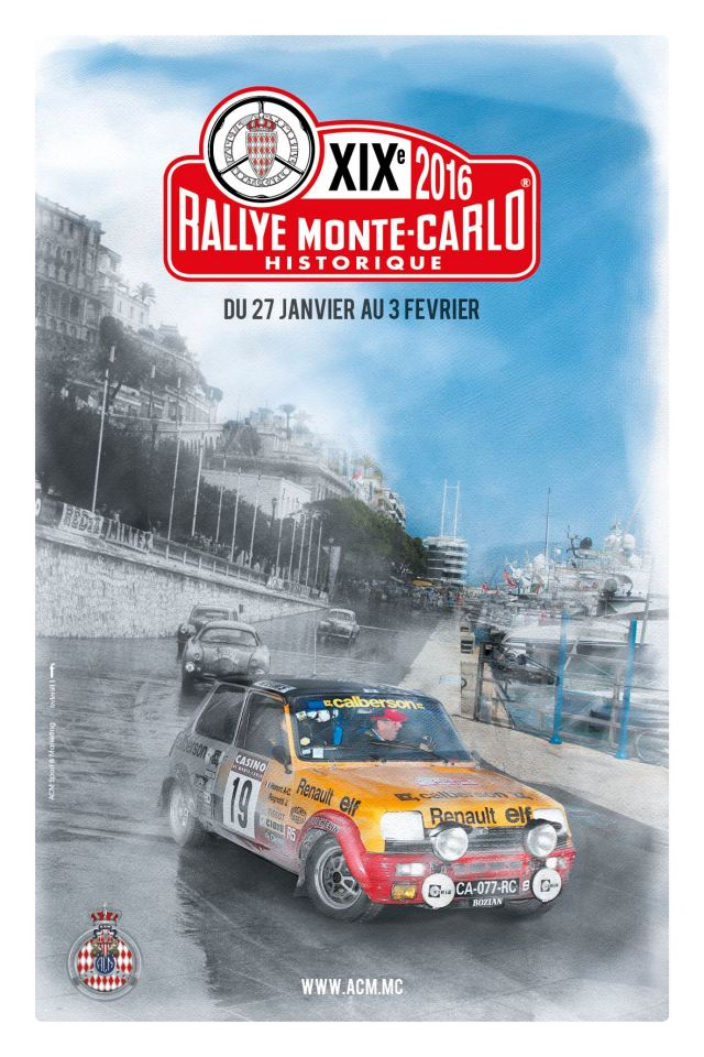 2016 rallye monte carlo historique entry list. Black Bedroom Furniture Sets. Home Design Ideas