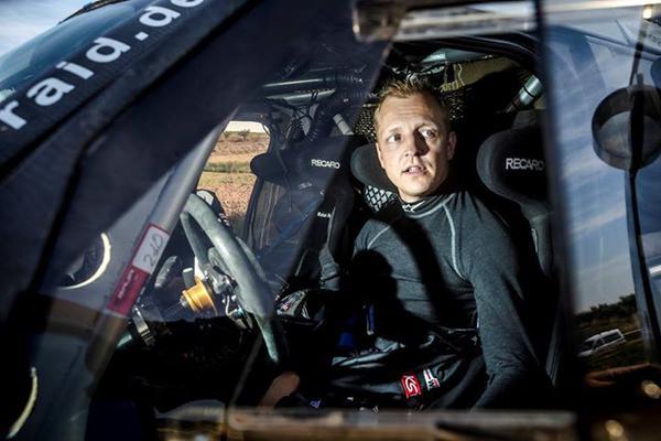 Mikko Hirvonen Dakar