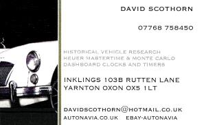 Scothorn Business Card