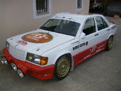 Mercedes-Benz 190 Auriol Rally Car
