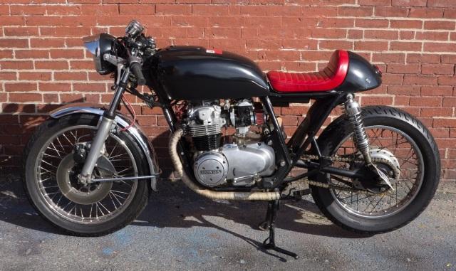 Old Bike Left side #2