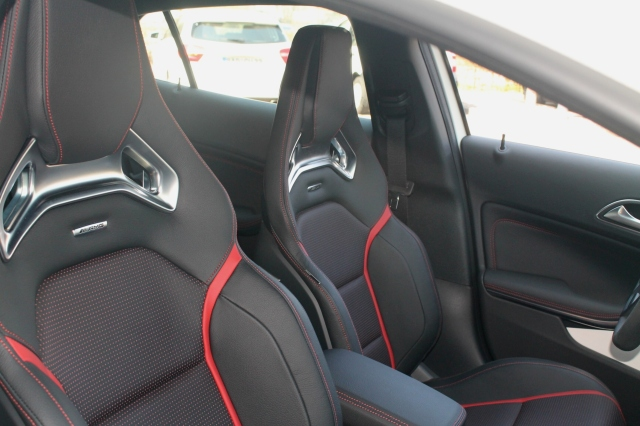 AMG GLA Seats