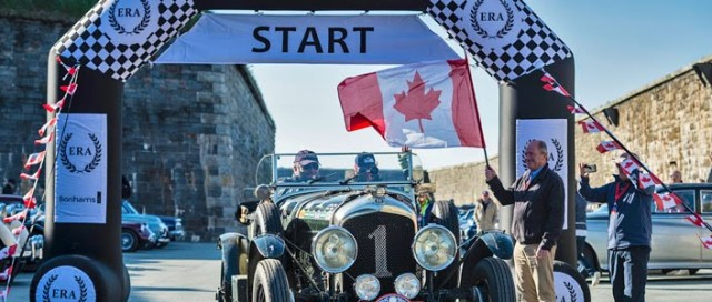 Fred Gallagher Flags Off in Halifax