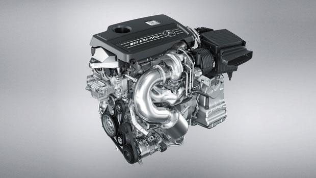 Mercedes-Benz AMG GLA Engine