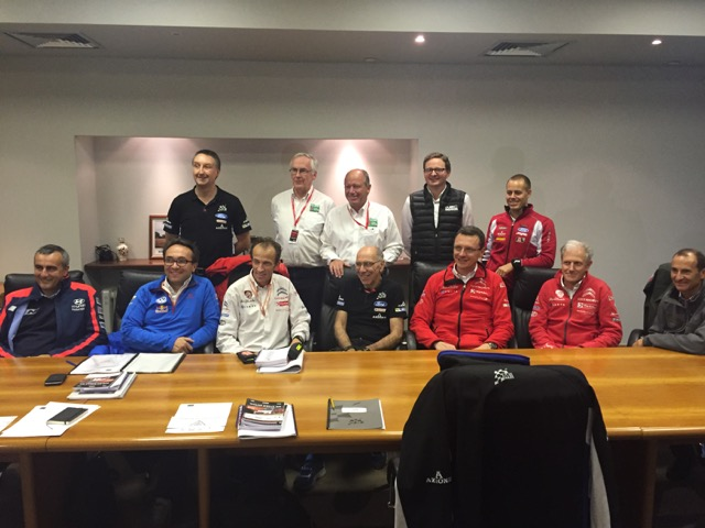 Rally GB Managers Meeting 2