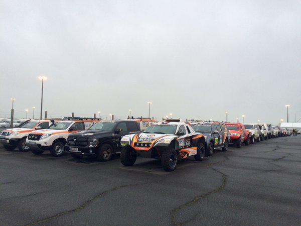 Vehicles Ready For Shipping