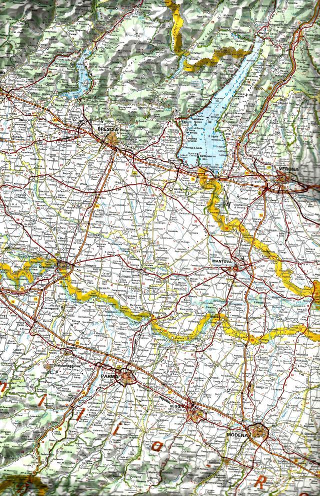 2016 Route Plot