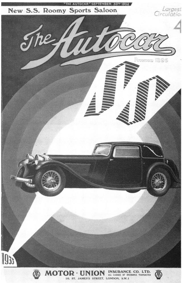 SS 1 Autocar Cover