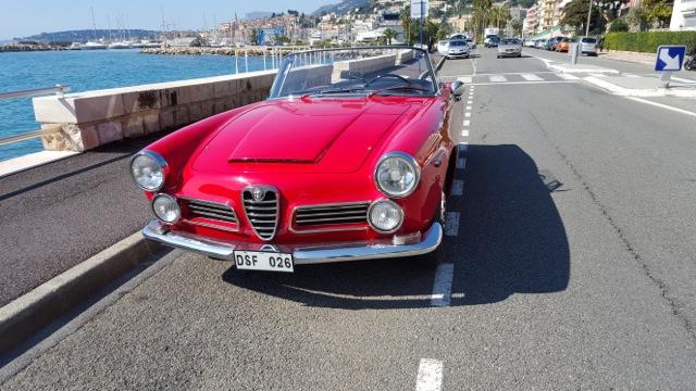 Dan Allvens 1962 Alfa Romeo 2600 Spider