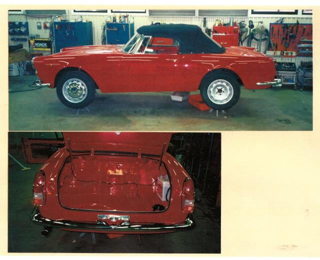 Alfa Romeo 2600 Spider Restoration 2