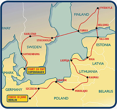 Classic Baltic General Route