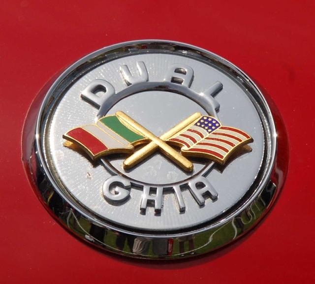 Dual Ghia Badge