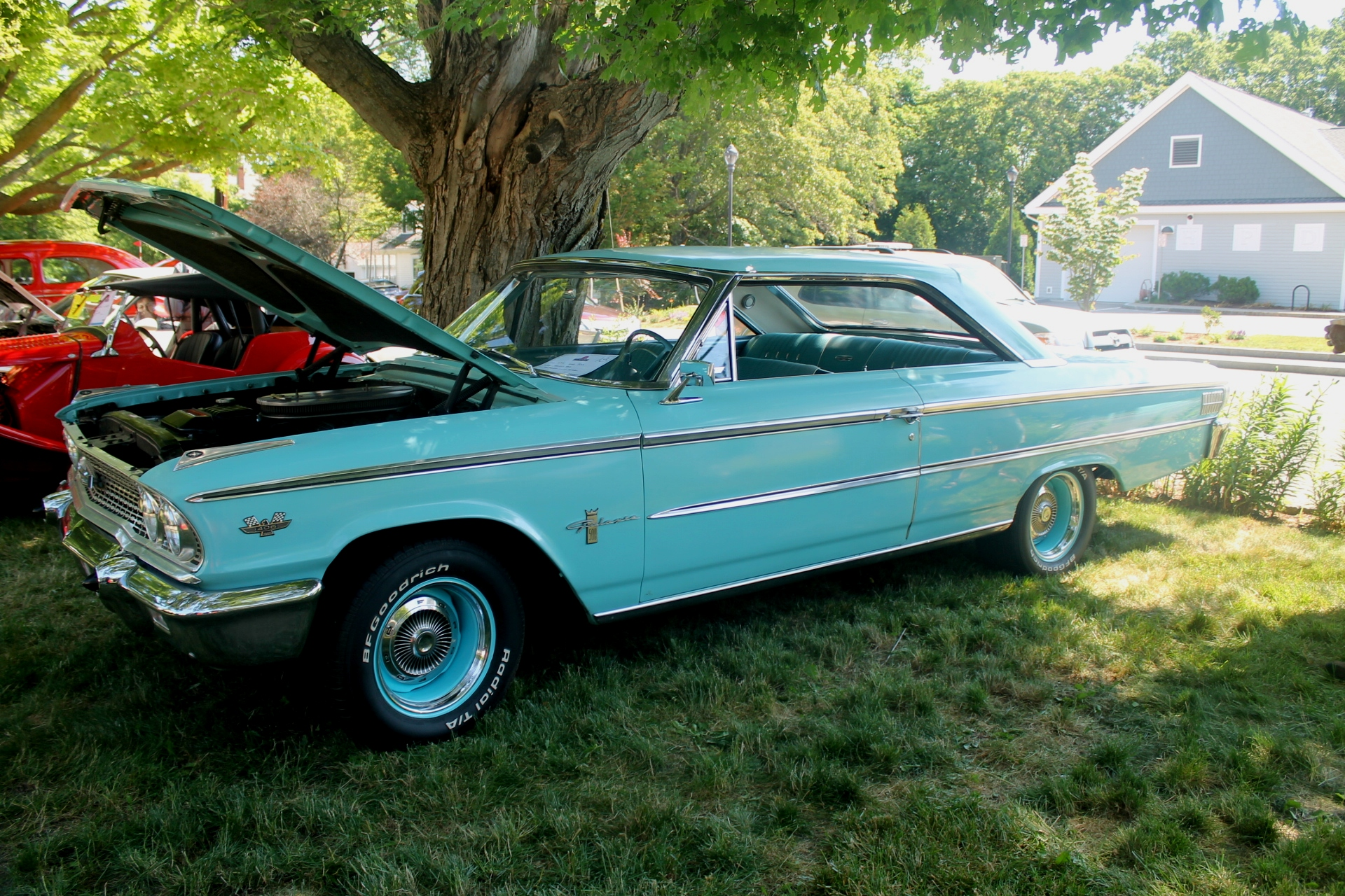 1963 ford galaxie 500 with the 406 engine. Black Bedroom Furniture Sets. Home Design Ideas