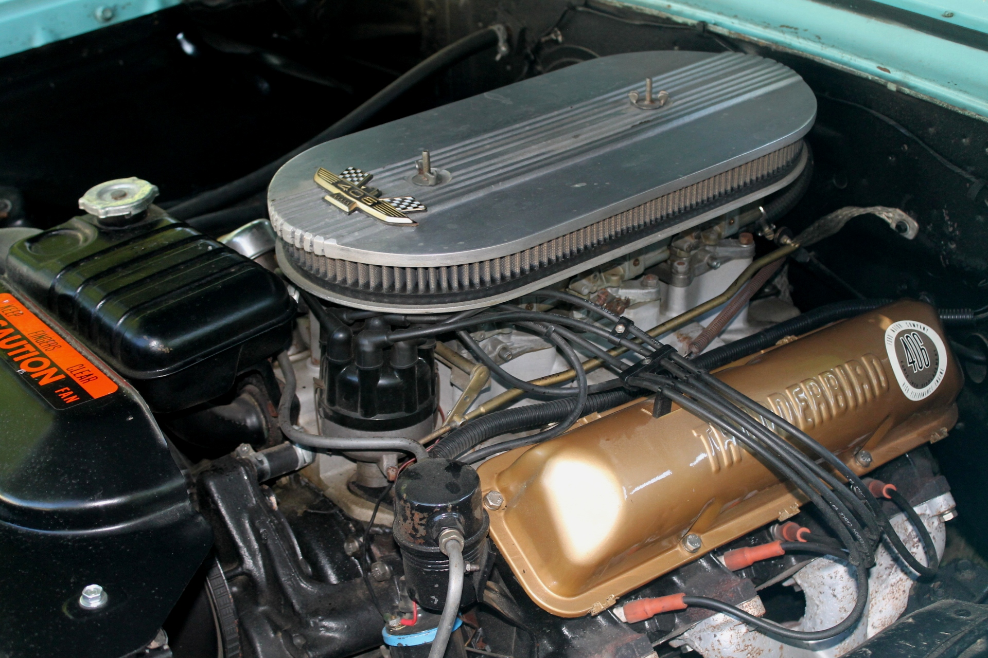 1963 Ford Galaxie 500 With The 406 Engine |