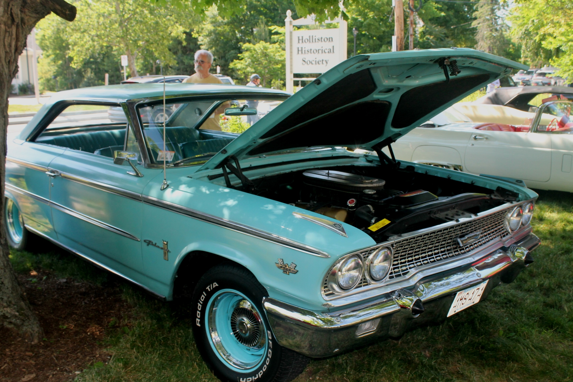 1963 ford galaxie 500 with the 406 engine