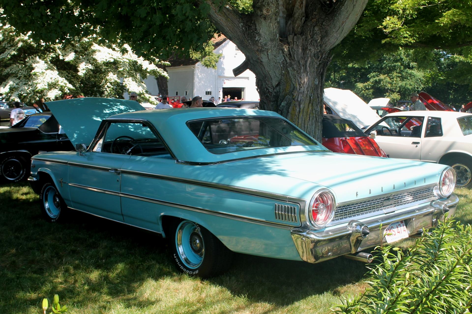 Ford galaxie 406 1963 8