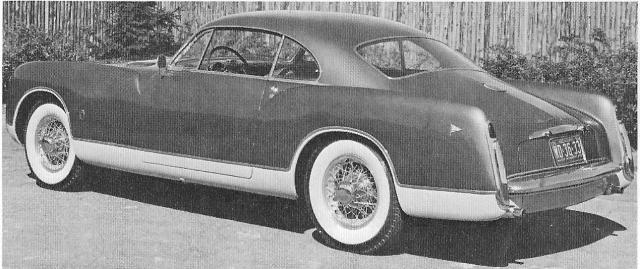 Ghia Special 1952