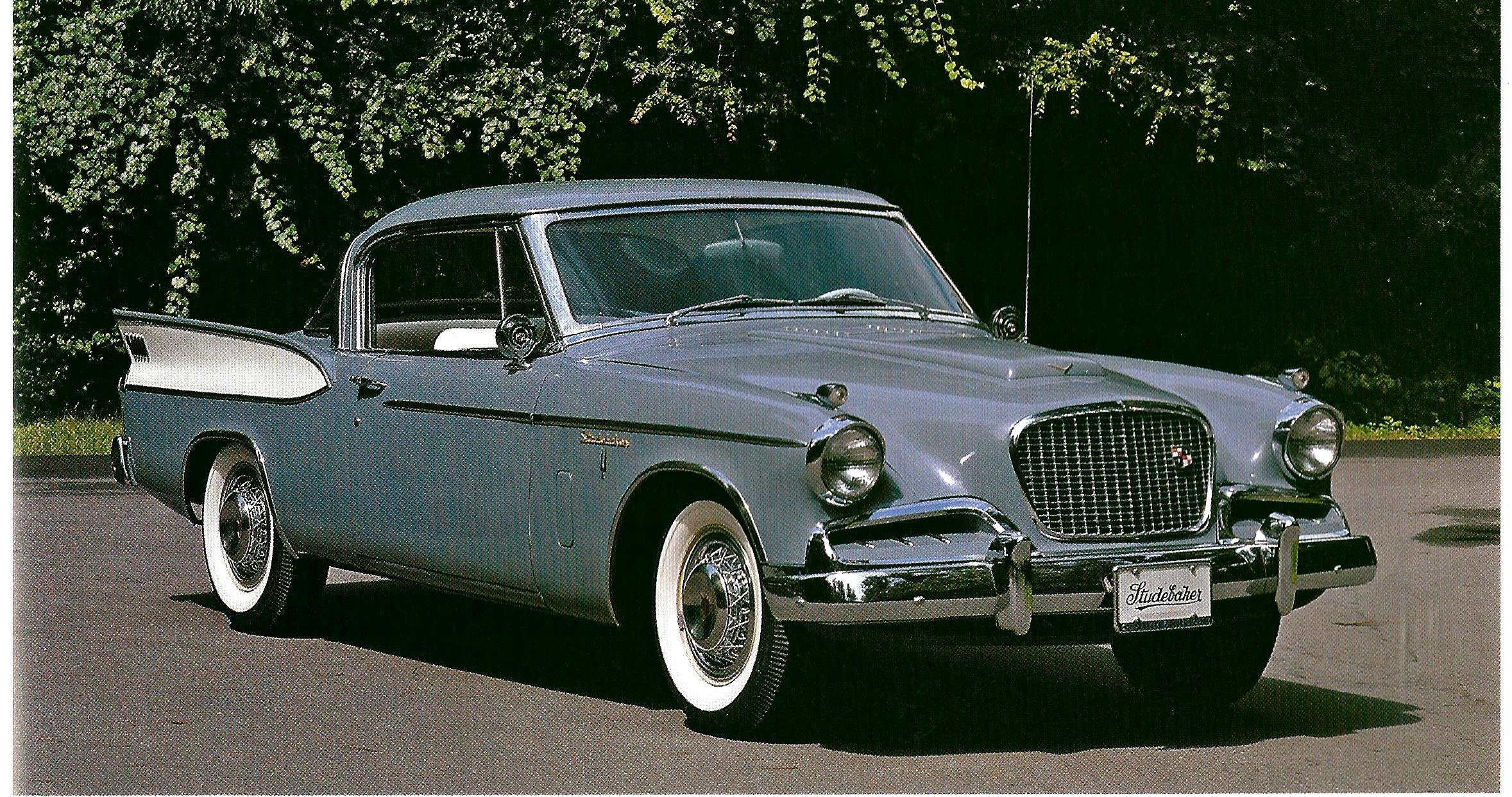 1955 studebaker president speedster surprised but the car pulls of the two tone lemon lime paint job mechana erotica pinterest cars wheels and