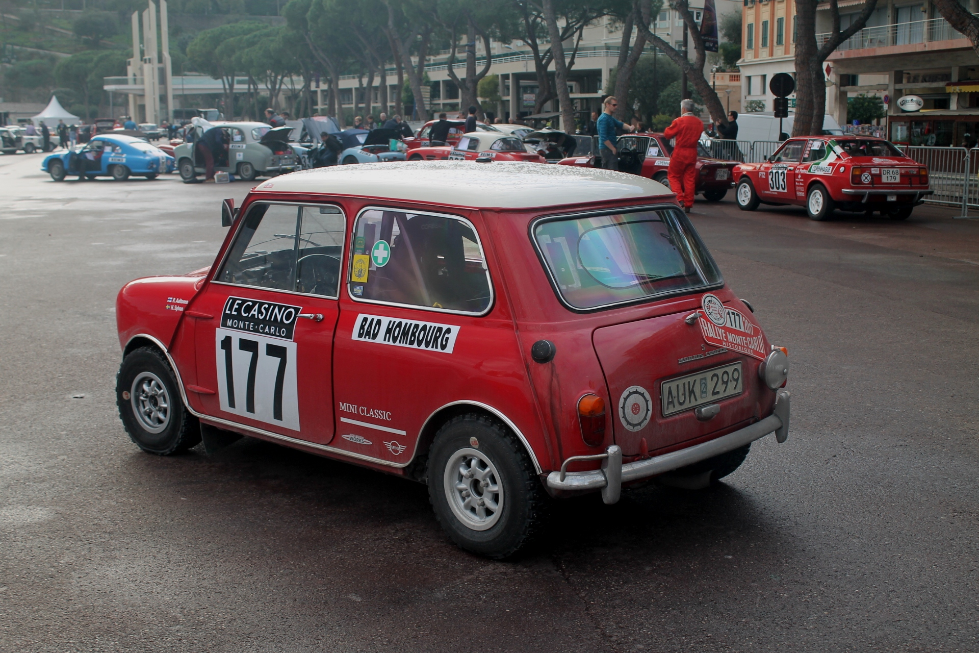 The Original Mini Was A Very Successful Rally Car