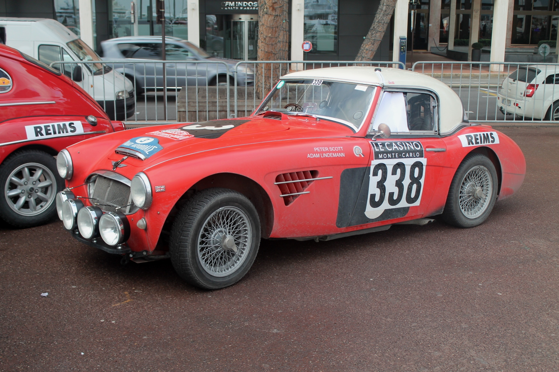an american enters a big healey in the 2017 rallye monte carlo historique. Black Bedroom Furniture Sets. Home Design Ideas