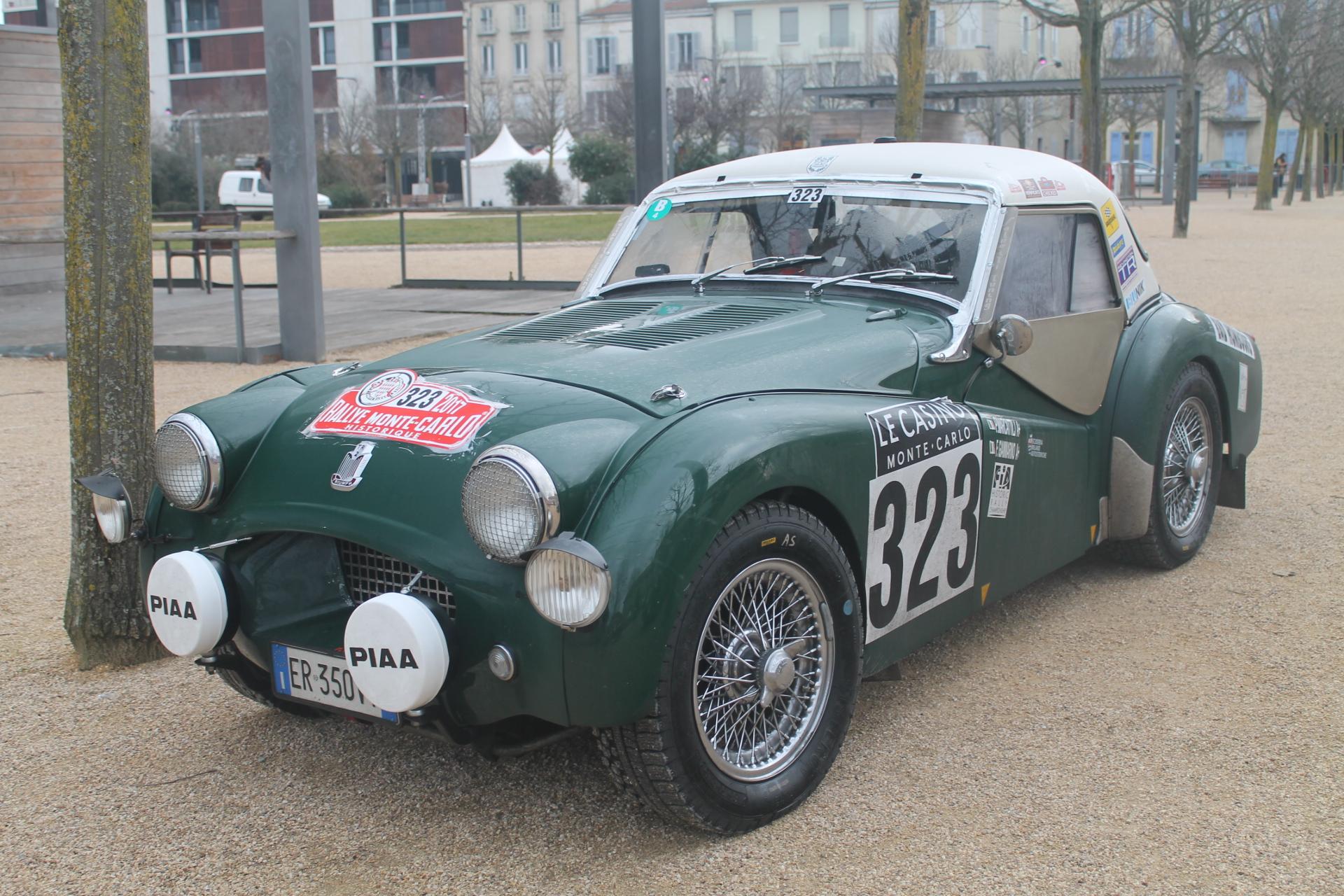 1954 Triumph TR2 At The 2017 R...