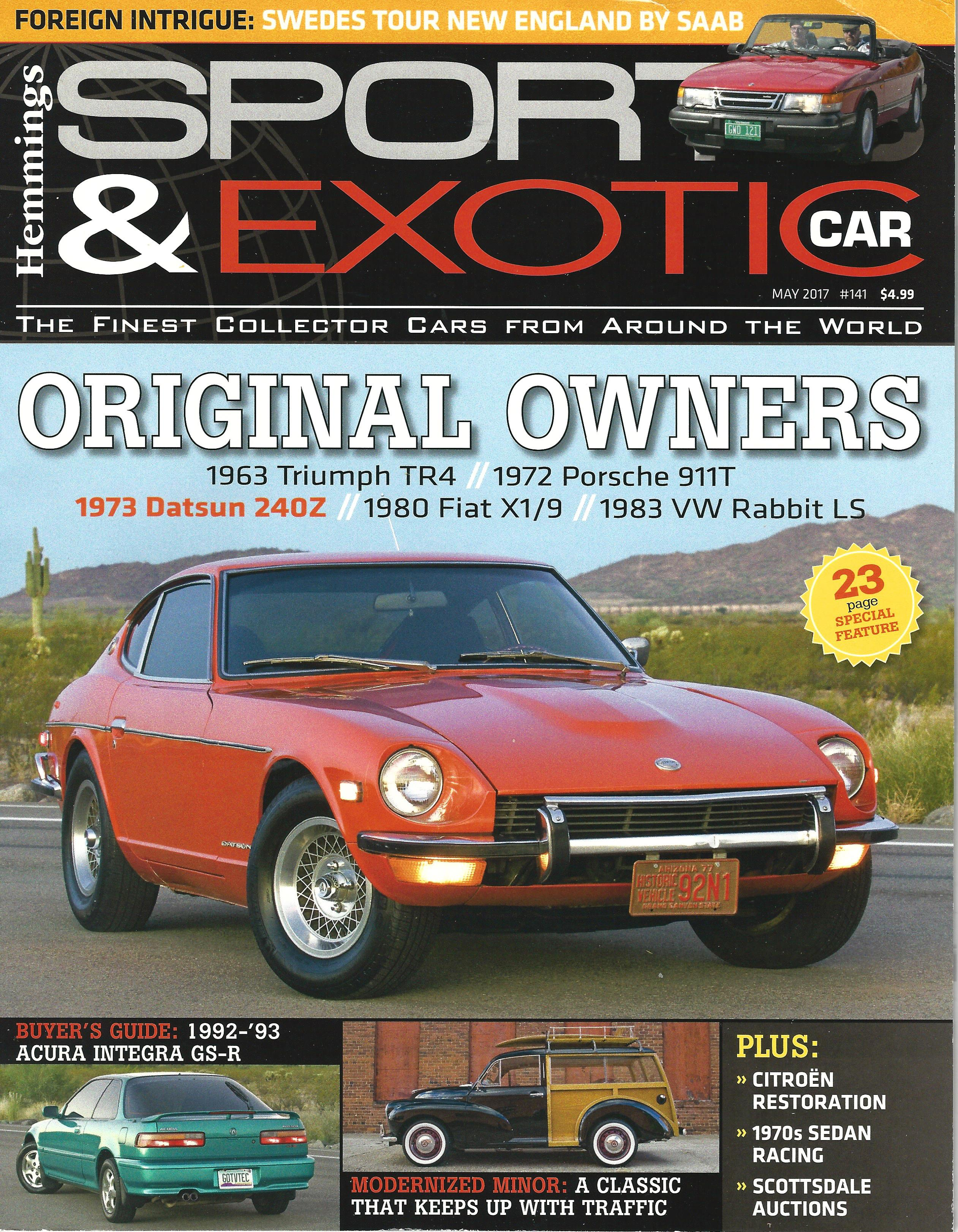 the end of hemmings sport exotic car magazine. Black Bedroom Furniture Sets. Home Design Ideas