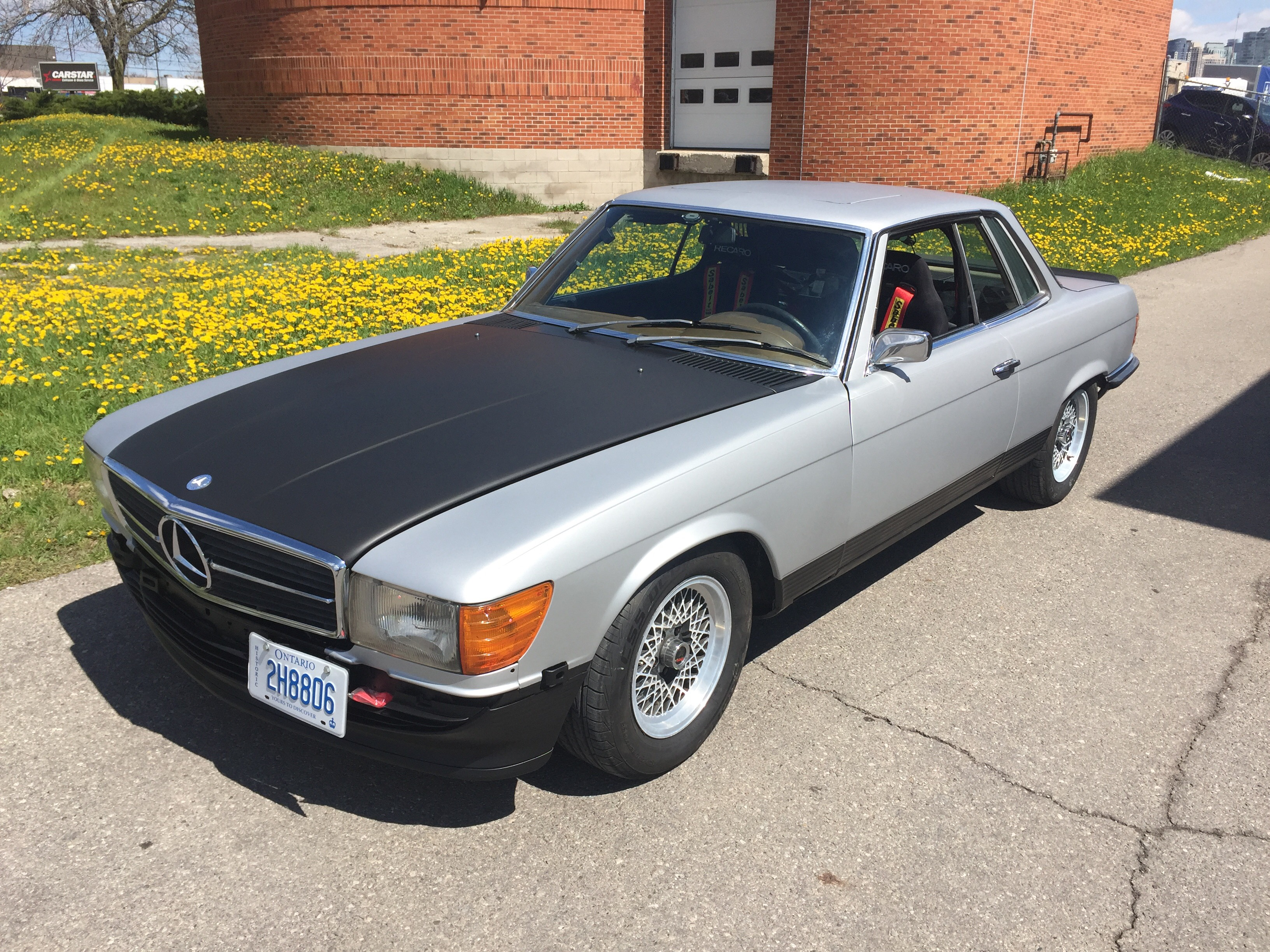 Mercedes-Benz 350SLC Rally Car |