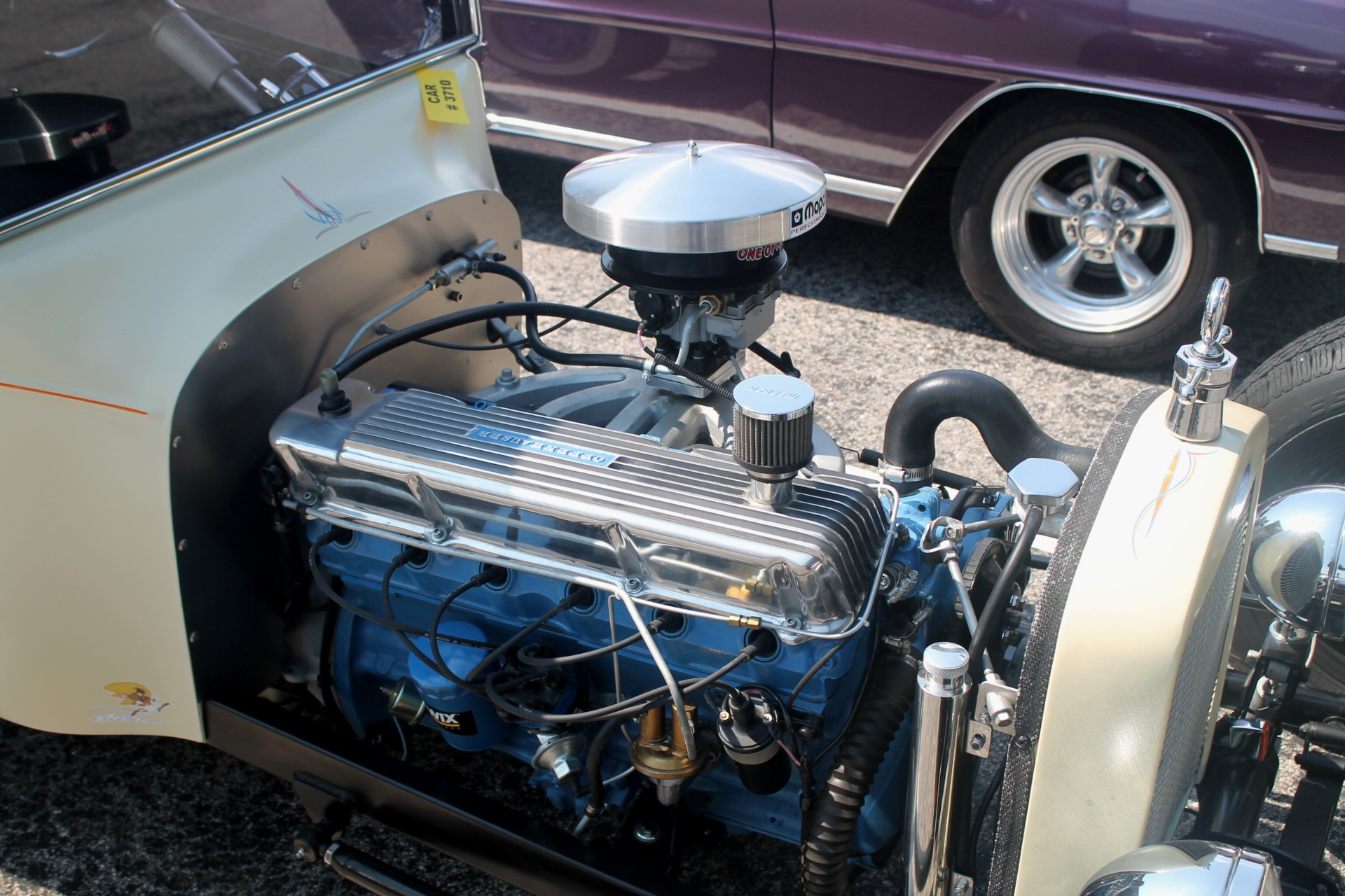 Ford Hot Rod With The Chrysler Slant Six Engine |